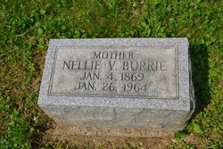 "Mary Ellen ""Nellie"" <I>Van Sickle</I> Burrie"