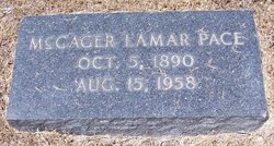 McCager Lamar Pace