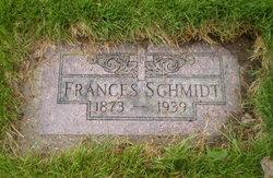 Frances <I>Koch</I> Schmidt