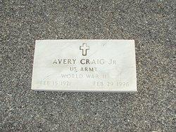 Avery Craig, Jr