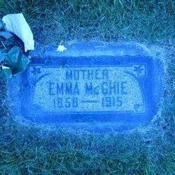 Emma <I>Rowan</I> Mcghie