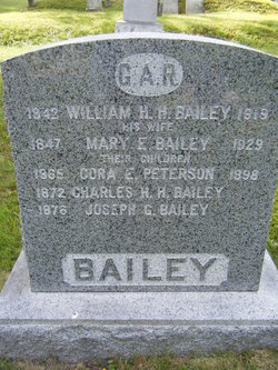 Cora E. <I>Peterson</I> Bailey