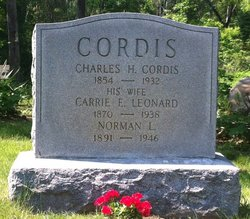 Carrie Ellen <I>Leonard</I> Cordis