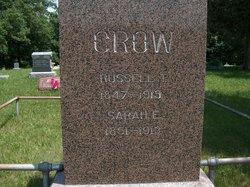Sarah E. <I>Stewart</I> Crow