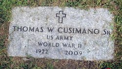 "Thomas W. ""Tom"" Cusimano, Sr"