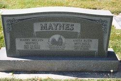 Anita Ruth <I>Mitchell</I> Maynes