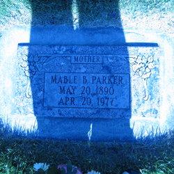 Mable <I>Burnett</I> Parker