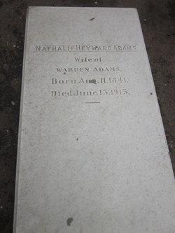 Nathalie <I>Heyward</I> Adams