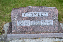 Marjory Virginia <I>Curtis</I> Crowley