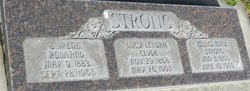 Lucy L. <I>Clyde</I> Strong