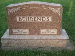 Mary <I>Beving</I> Behrends