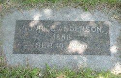 Gunhild <I>Thorson</I> Anderson