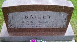 Dovie <I>Hopkins</I> Bailey