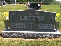 "Matilda ""Tillie"" <I>Larson</I> Blomgren"