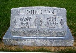 Amy Jane <I>Mercer</I> Johnston
