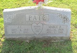Mable Fern <I>Pinkston</I> Pate