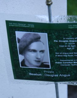 Private Douglas Angus Beaton