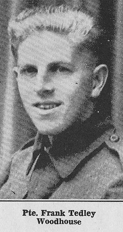 Private Frank Tedley