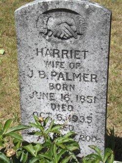 Harriett <I>Latimer</I> Palmer