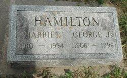 Harriet <I>Wooley</I> Hamilton
