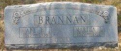 Martha Leona <I>Westbrook</I> Brannan