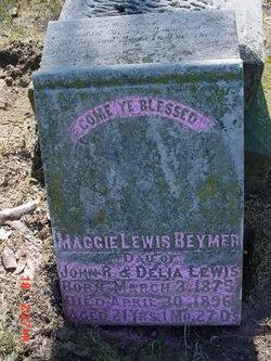 Margaret Jane <I>Lewis</I> Beymer