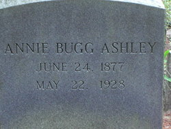 Annie <I>Bugg</I> Ashley