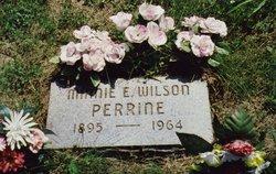 Minnie Edna <I>Wilson</I> Perrine