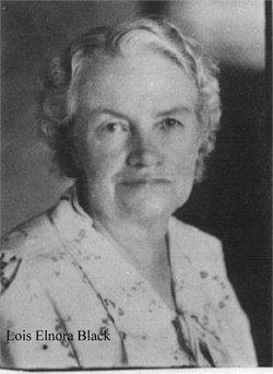 Lois Elnora <I>Black</I> Wright