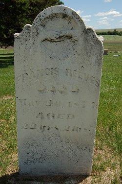 Francis Reeves