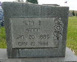 Alta B <I>Story</I> Hanna