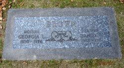 Georgia Lee <I>DePew</I> Brown