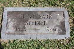 Olive Edna <I>Barr</I> Steiner