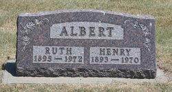 Ruth Elizabeth <I>Wells</I> Albert