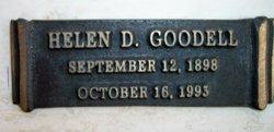 Helen D Goodell