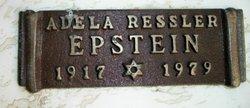 Adela <I>Ressler</I> Epstein