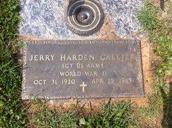 Sgt Jerry Harden Gallier
