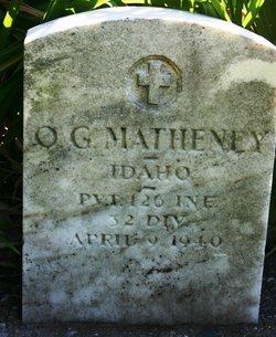 Otto George Matheney