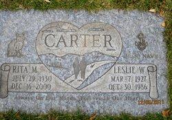Leslie W Carter