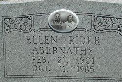 Ellen <I>Rider</I> Abnerathy