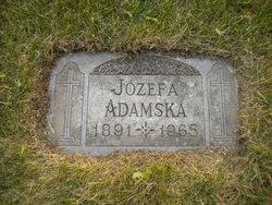 "Josephine M. ""Jozefa Adamska"" Adamski"