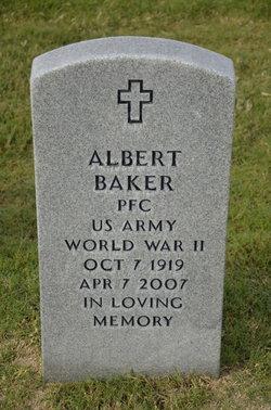PFC Albert Baker