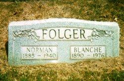 Blanche T. <I>Hancock</I> Folger