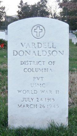 Pvt Vardell P Donaldson