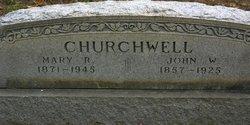 Mary Kissiah <I>Norwood</I> Churchwell