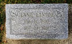 Jennie <I>Smith</I> Lanting