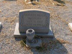 Gertrude <I>Walker</I> McGouirk