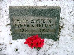 Anna <I>Edwards</I> Thomas