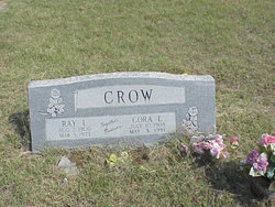 Cora Lee <I>Garrett</I> Crow