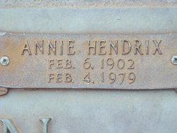 Annie <I>Hendrix</I> Duncan